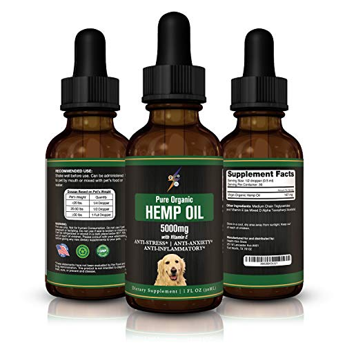 , Health Kick Store Hemp Oil for Dogs Cats