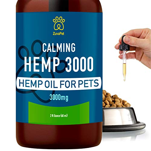 , Hemp Oil for Dogs and Cats 3000mg 120 servings
