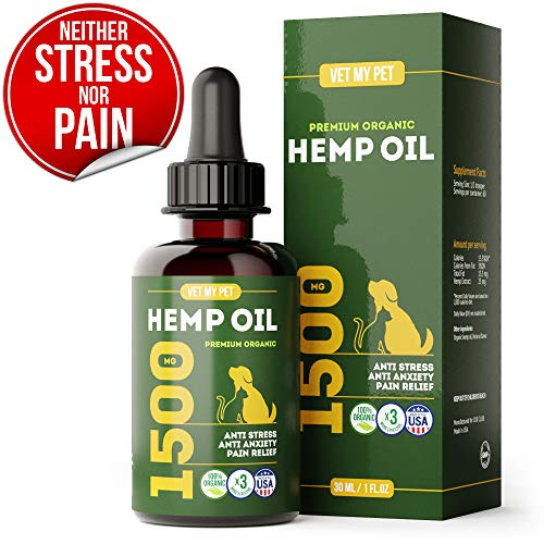 , Hemp Oil for Dogs and Cats Provides Dog Anxiety