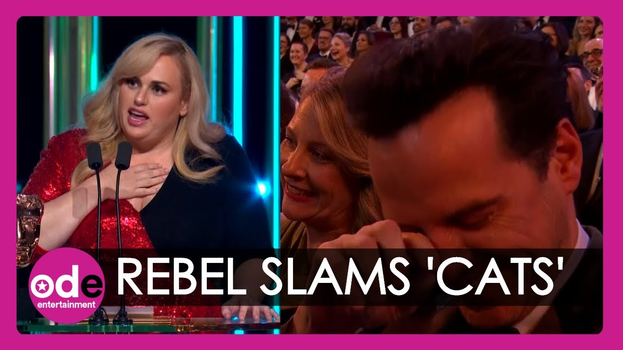 , Baftas Rebel Wilson jokes about 39Cats39 during very